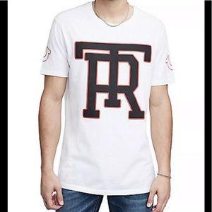 4c8b85757 True Religion · True Religion Monogram Elongate Crewneck T shirt🔥
